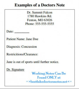 get a real physician template